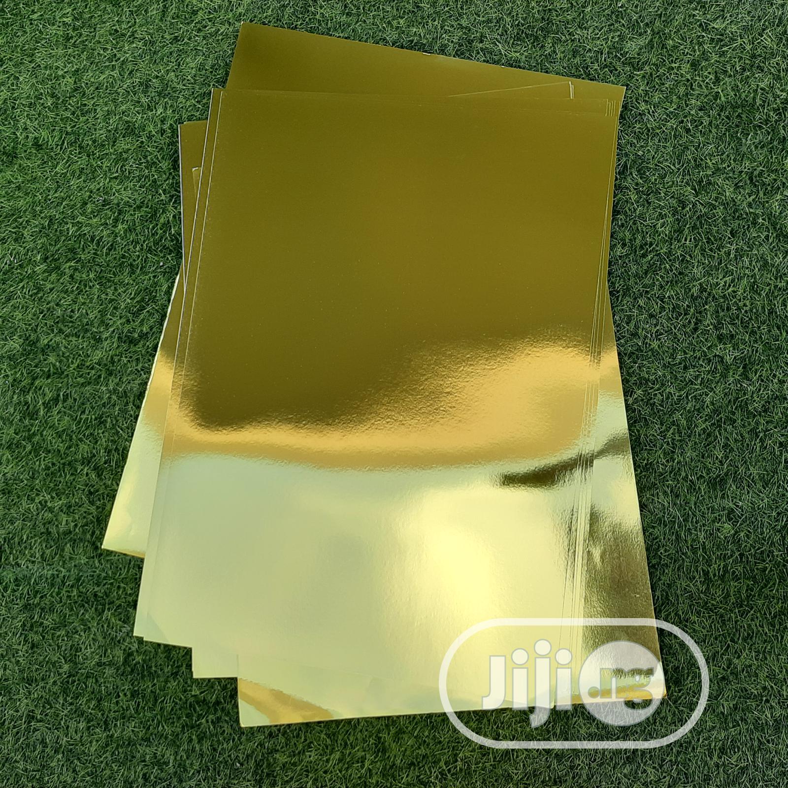 Mirror Gold Card | Arts & Crafts for sale in Lekki, Lagos State, Nigeria