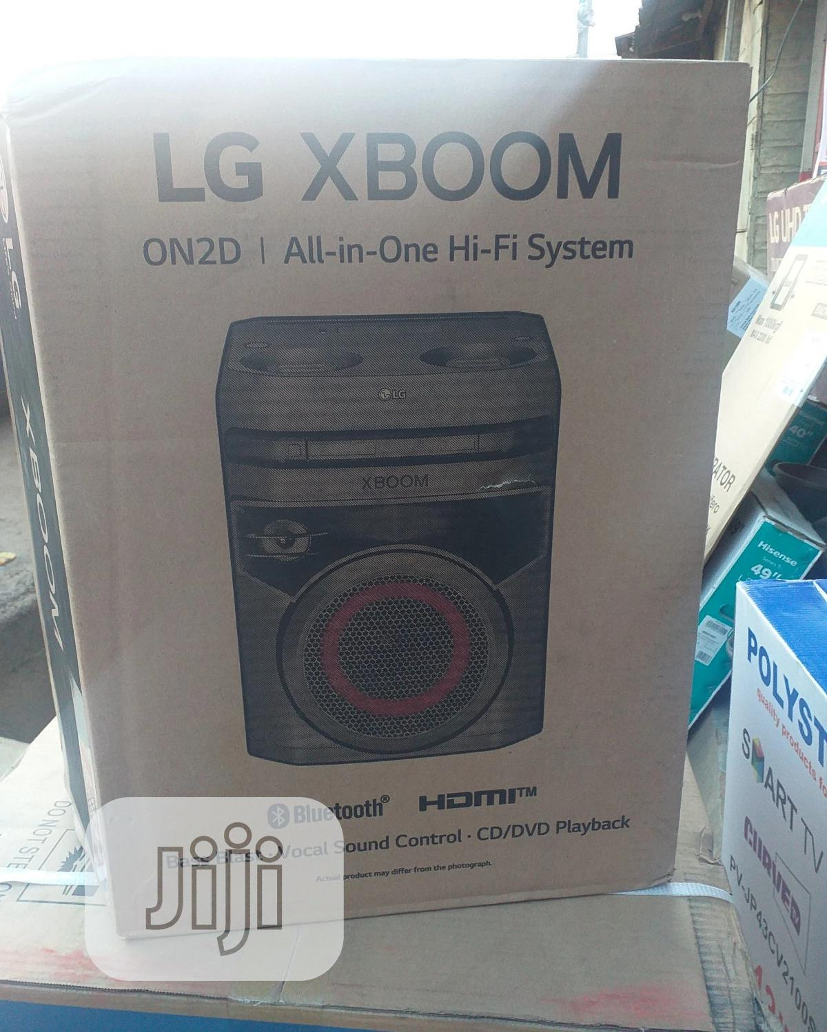 LG Xboom On2d ( All -in-one Hi-fi System)