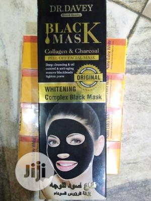 Doc Davey Black Mask Collagen & Charcoal   Skin Care for sale in Lagos State, Ojo