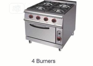 4 Burner Cooker With Oven   Restaurant & Catering Equipment for sale in Lagos State, Ojo