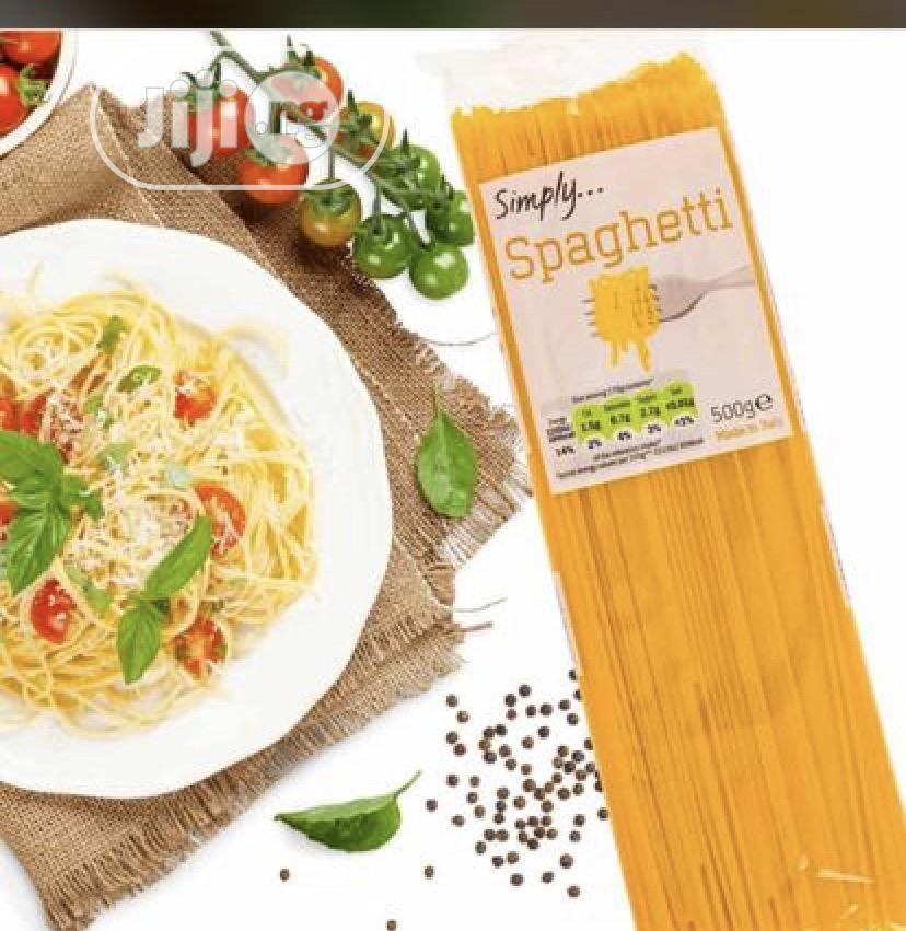 Archive: Simply Spaghetti 24 Pieces In A Cartoon