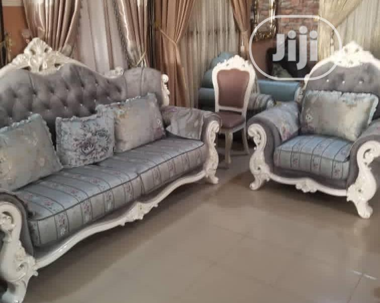 7seater Royal Fabric Sofa Chair Imported From Turkey