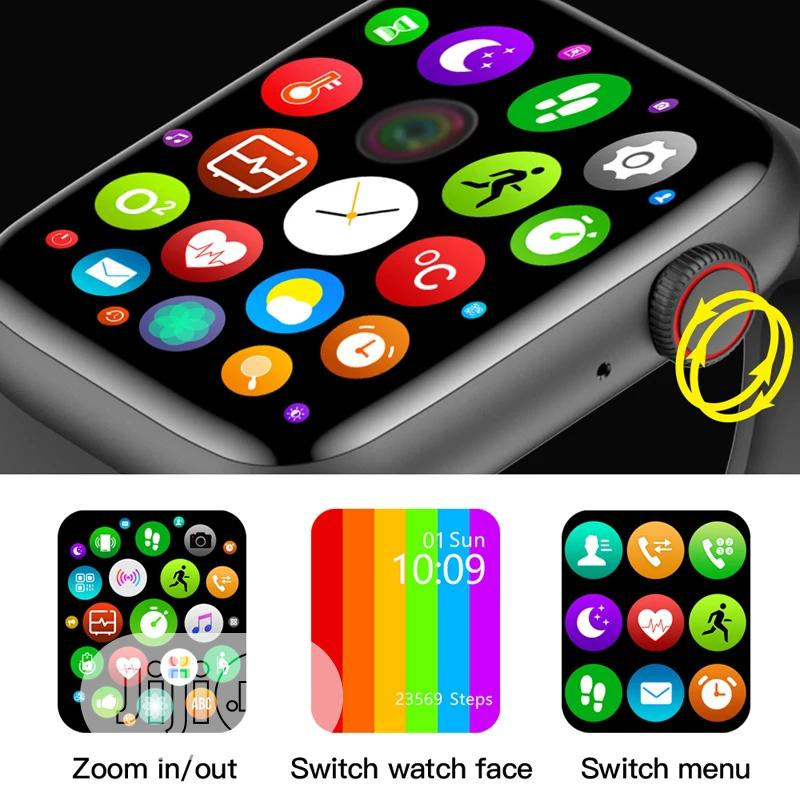 W26+ Plus IWO13 Hiwatch6 Series6 Watch 6 Smart Watch | Smart Watches & Trackers for sale in Ikeja, Lagos State, Nigeria