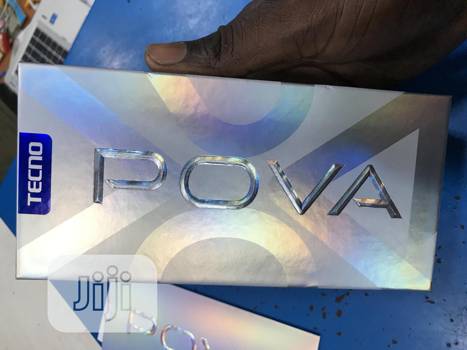 New Tecno Pova 128 GB Blue   Mobile Phones for sale in Ikeja, Lagos State, Nigeria