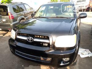 Toyota Sequoia 2006 Black   Cars for sale in Lagos State, Apapa