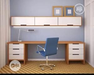 Table With Wall Mounted Shelf for Office and Home | Furniture for sale in Lagos State, Ikorodu