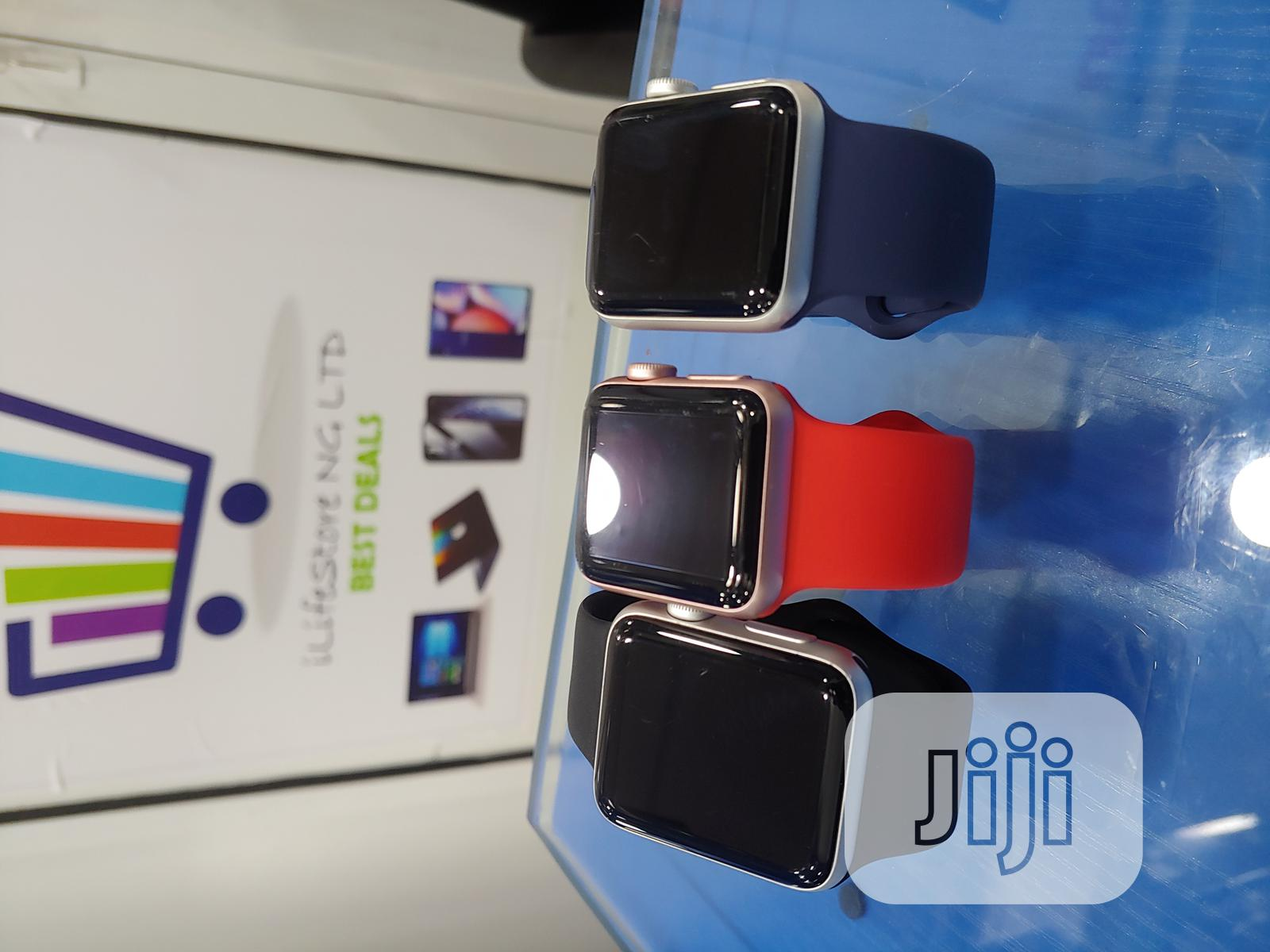 Iwatch Series 2 38mm And 42mm Gps Only | Smart Watches & Trackers for sale in Ikeja, Lagos State, Nigeria