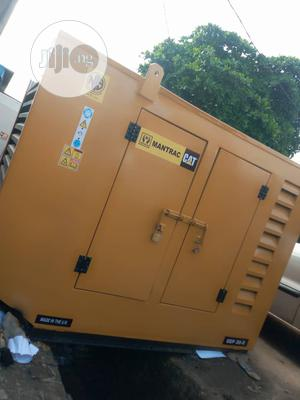 30KVA Mantrac (Caterpillar Sound Proof Generator), Very Neat   Electrical Equipment for sale in Lagos State, Alimosho