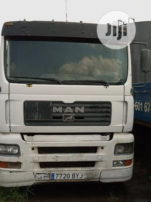 MAN Truck and Flat Trailer With 3 Axles and Tarpaulin | Trucks & Trailers for sale in Lagos State, Alimosho