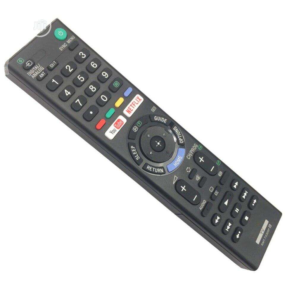 Remote Control Rmt-tx300p For Sony 4K Hdr Ultra HD TV Rmt-tx