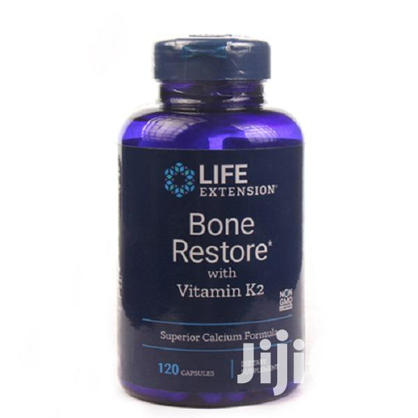 Life Extension Bone Restore With Vitamin K2, 120 Caps.