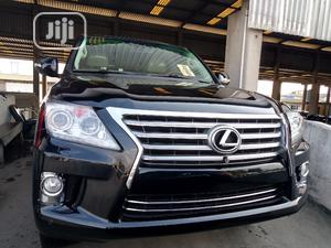 Lexus LX 2013 570 Base Black | Cars for sale in Lagos State, Apapa