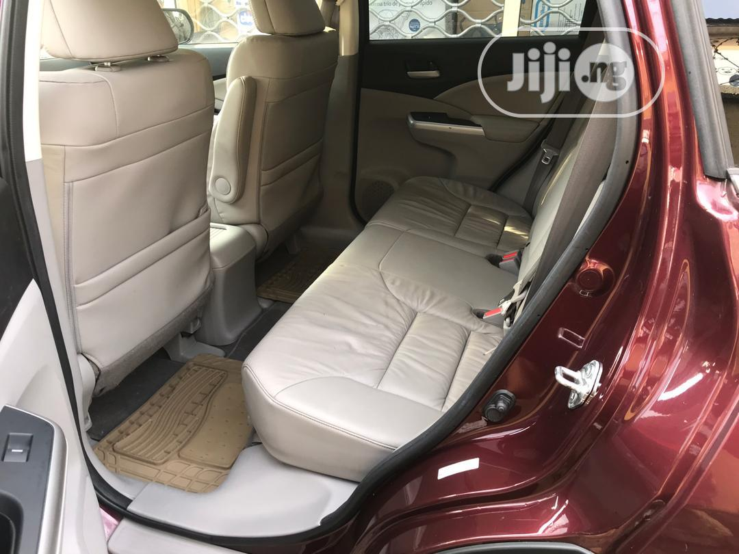 Honda CR-V 2012 Red   Cars for sale in Surulere, Lagos State, Nigeria