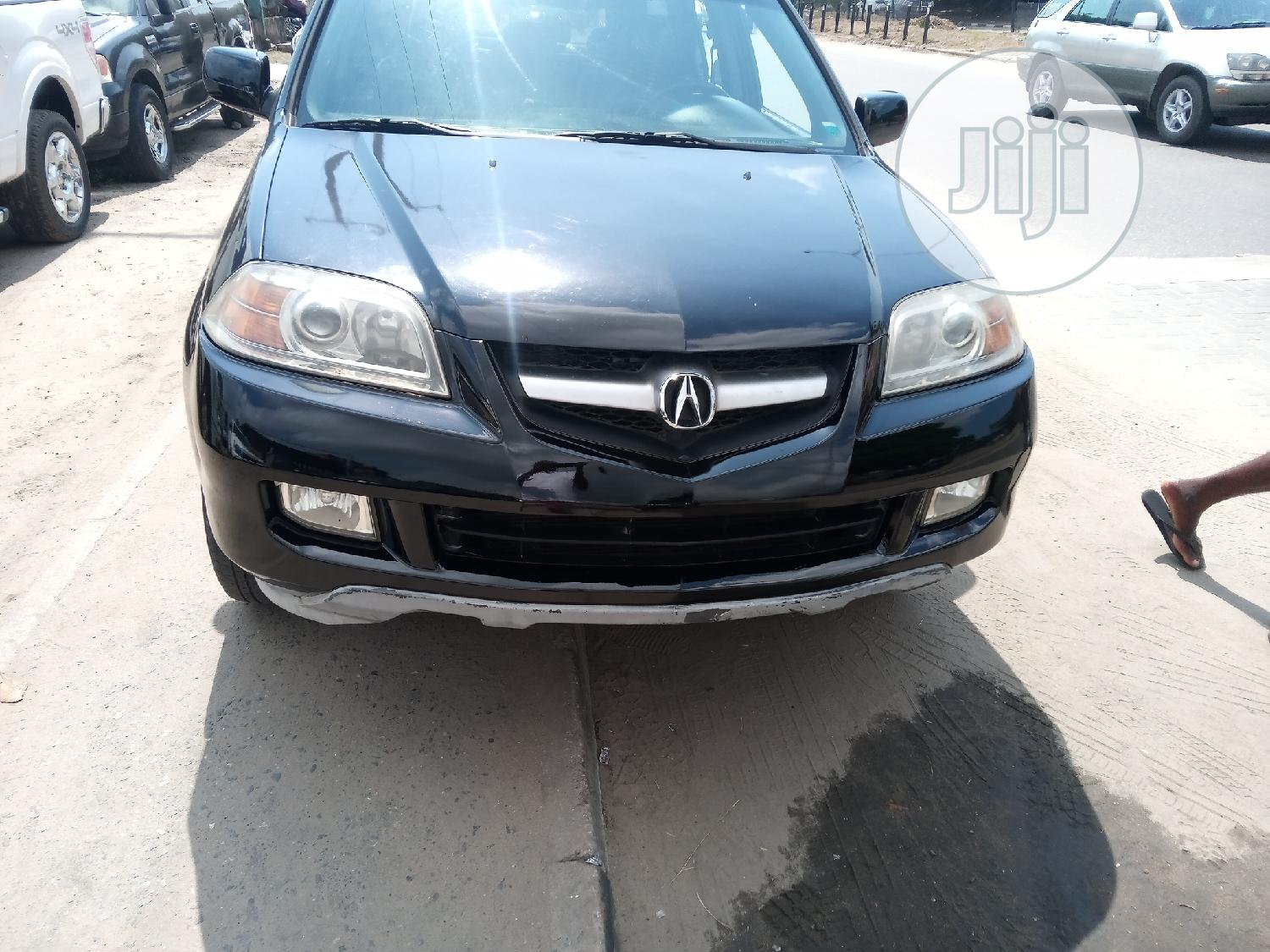 Acura MDX 2004 Touring Package Black