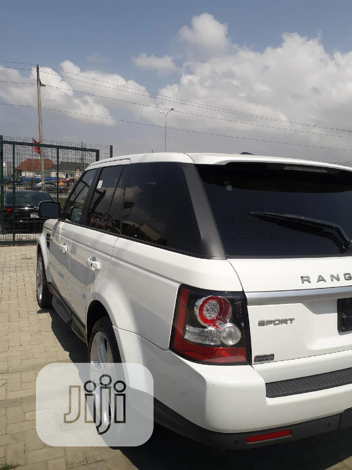 Land Rover Range Rover Sport 2012 HSE 4x4 (5.0L 8cyl 6A) White | Cars for sale in Lekki, Lagos State, Nigeria