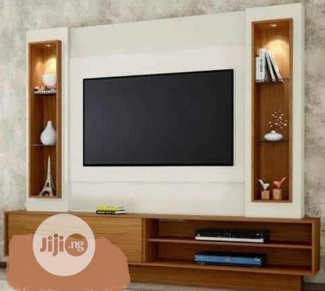 Trendy And Classic TV Shelf.