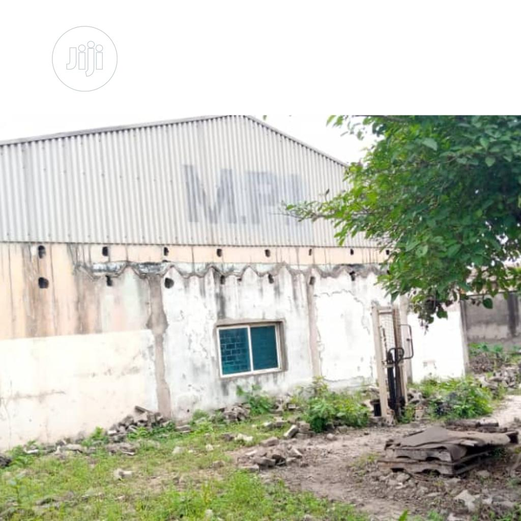 Archive: 1300M2 Warehouse At Acme Road, Ogba, Ikeja, Lagos For Sale.