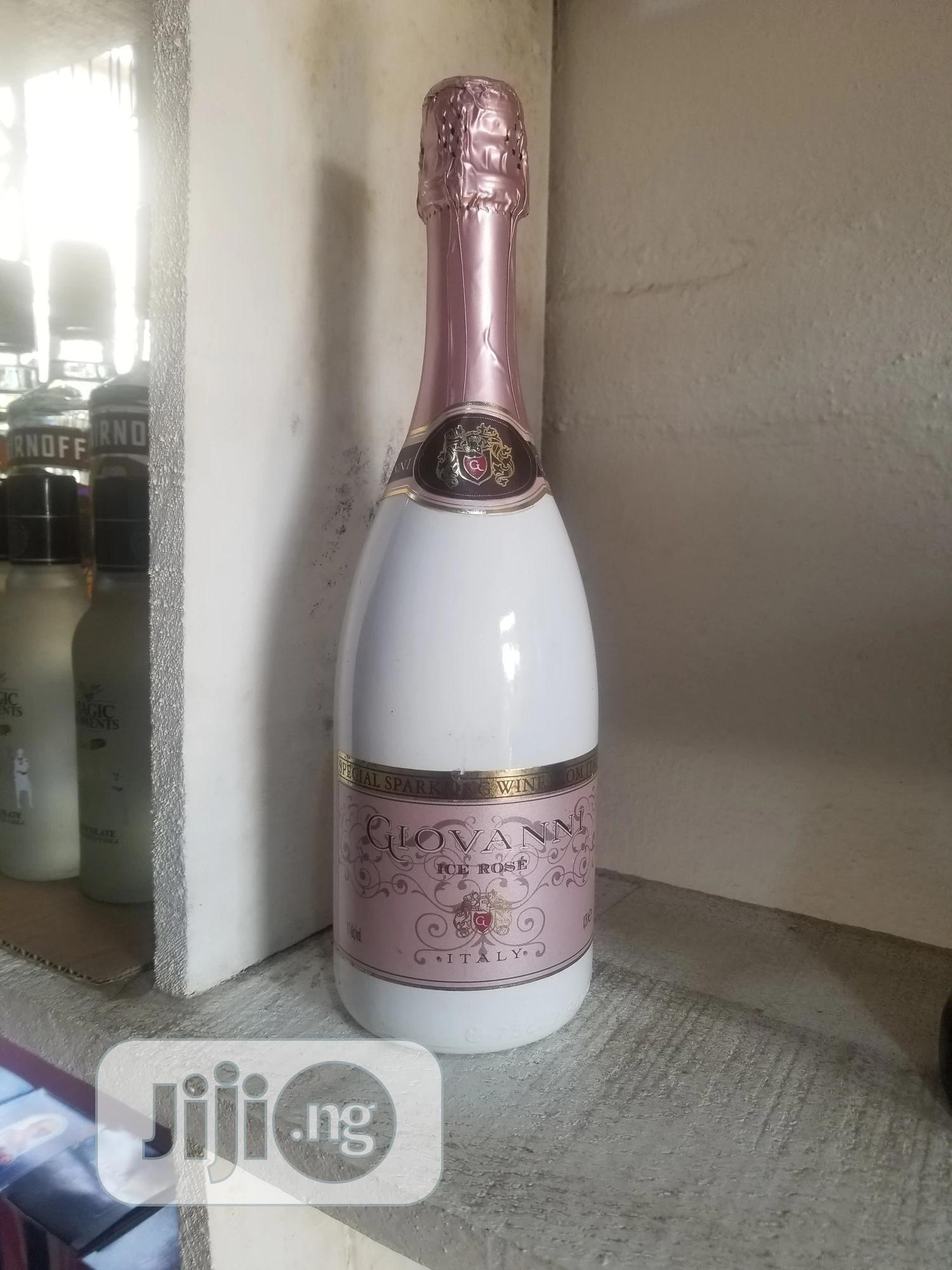 Archive: ICE ROSE Glovanni Sparkling Wine