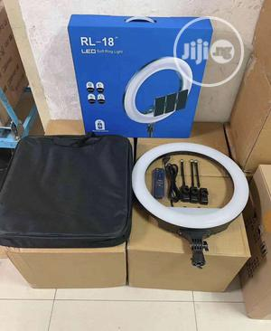 18 Inches Led Soft Ring Light With Remote Control | Accessories & Supplies for Electronics for sale in Lagos State, Ikeja