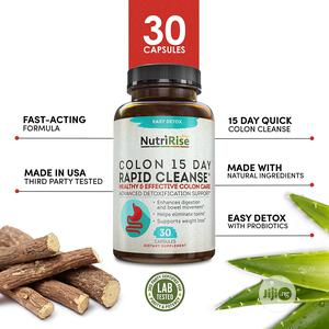 Nutririse 15 Day Colon Cleanser Detox for Weight Loss, 30 Ct | Vitamins & Supplements for sale in Lagos State, Lekki