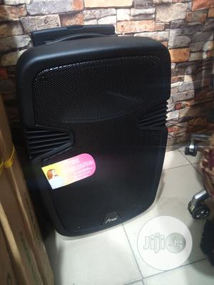 Amaz Portable Public Adress System 15inch | Audio & Music Equipment for sale in Lagos State, Ojo