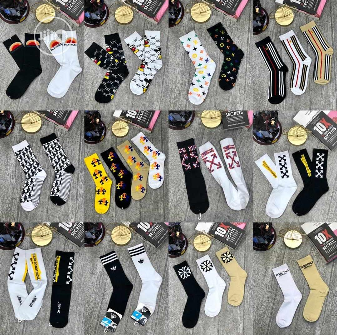 Designers Authentic Socks New | Clothing Accessories for sale in Lagos Island (Eko), Lagos State, Nigeria