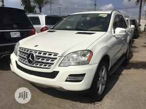 Mercedes-Benz M Class 2010 ML 350 4Matic White   Cars for sale in Lagos State, Surulere
