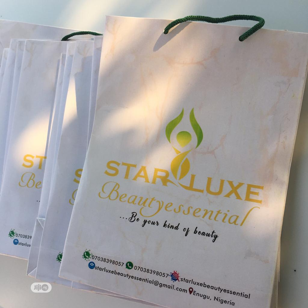 Branded Paper Bags And Nylon Bags