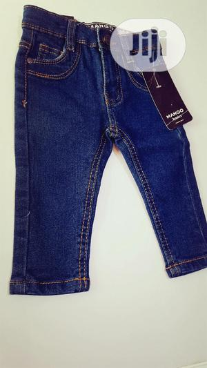 Blue Denim Baby Jeans | Children's Clothing for sale in Lagos State, Ojodu