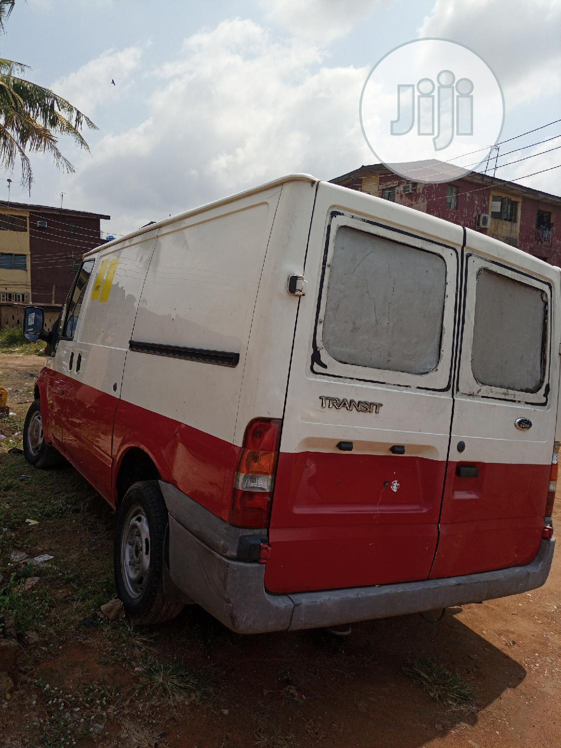 Ford Transit 2005 White   Buses & Microbuses for sale in Isolo, Lagos State, Nigeria