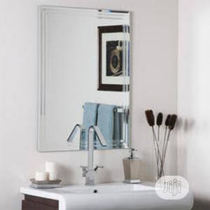 Plain Square Mirror Toilet and Bathroom | Home Accessories for sale in Lagos State, Surulere