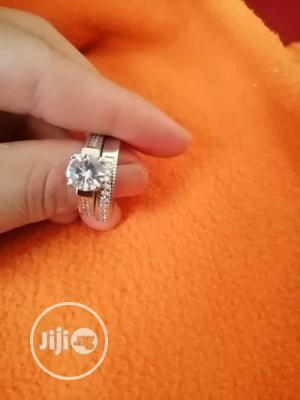 Female Crystal White Round Ring Set   Wedding Wear & Accessories for sale in Rivers State, Port-Harcourt
