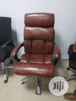 Executive Brown Office Chair | Furniture for sale in Lagos State, Yaba