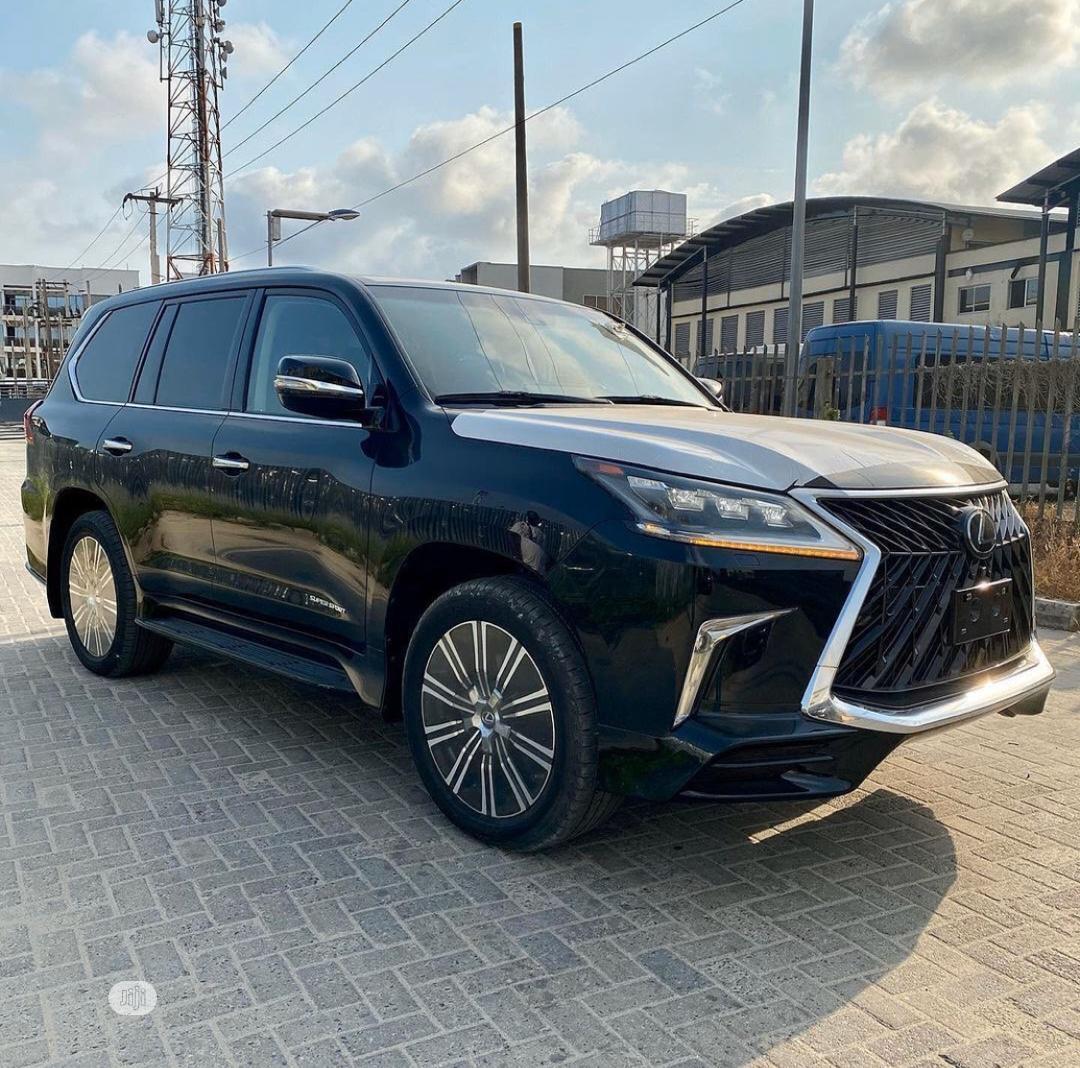 Lexus LX 2018 570 Three-Row Black | Cars for sale in Lekki, Lagos State, Nigeria