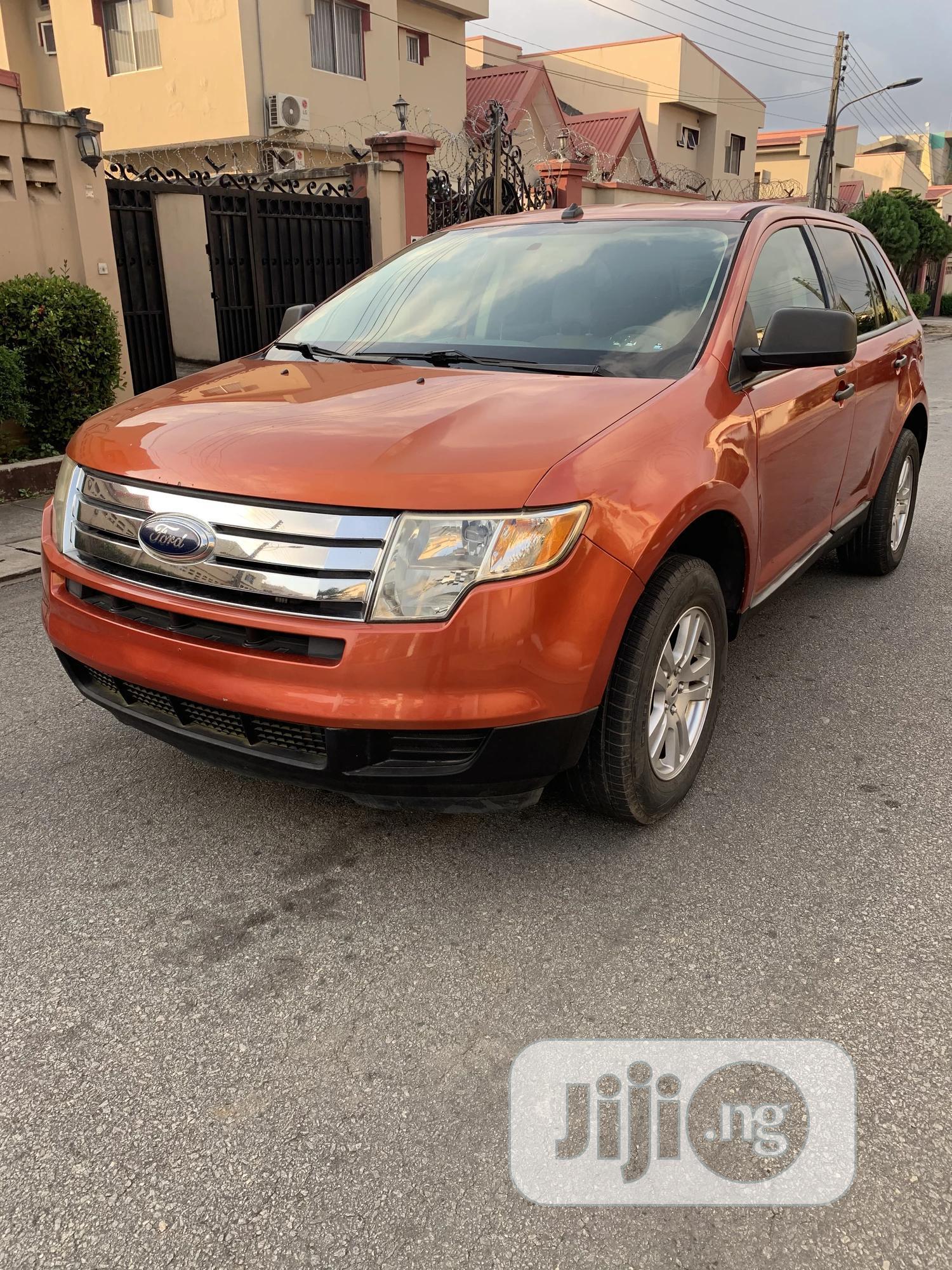 Ford Edge 2008 Orange | Cars for sale in Ikeja, Lagos State, Nigeria