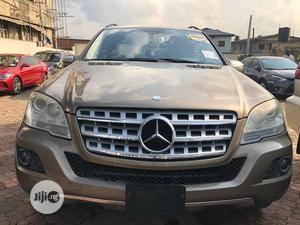 Mercedes-Benz M Class 2010 Gold | Cars for sale in Lagos State, Ikeja