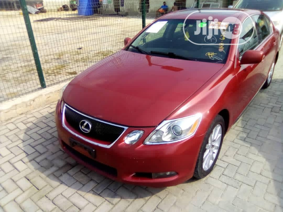 Lexus GS 2006 300 AWD Red | Cars for sale in Lekki, Lagos State, Nigeria
