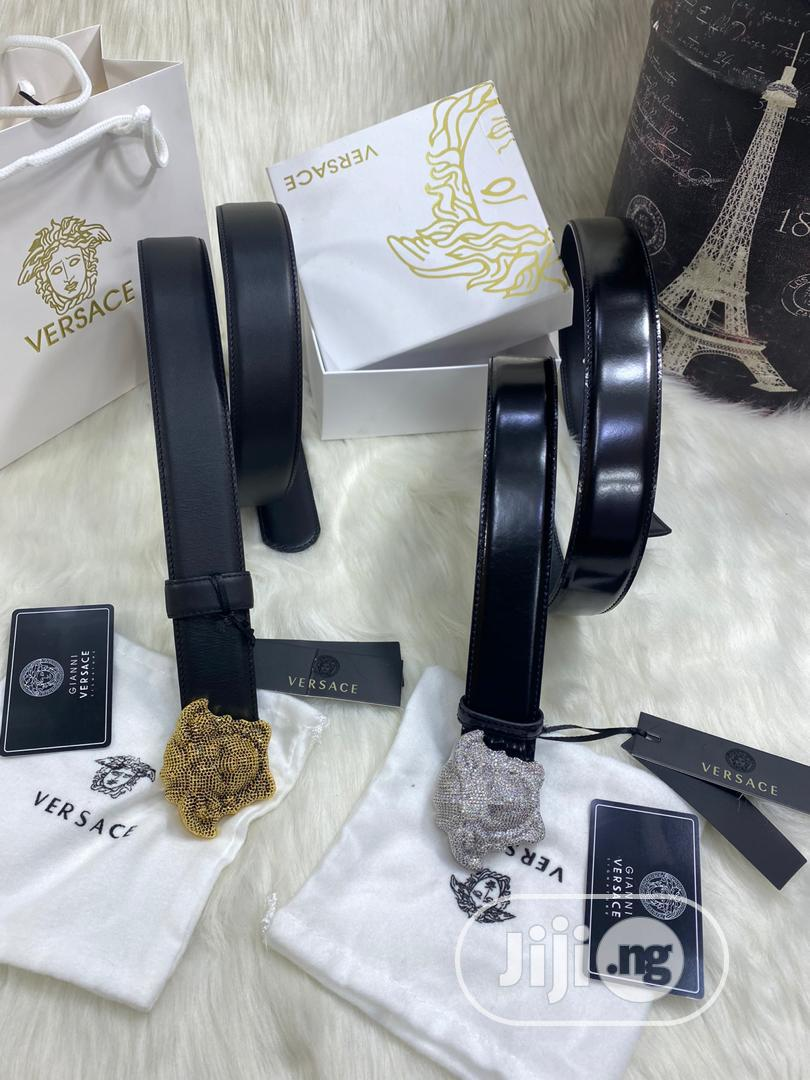 High Quality Versace Leather Belts