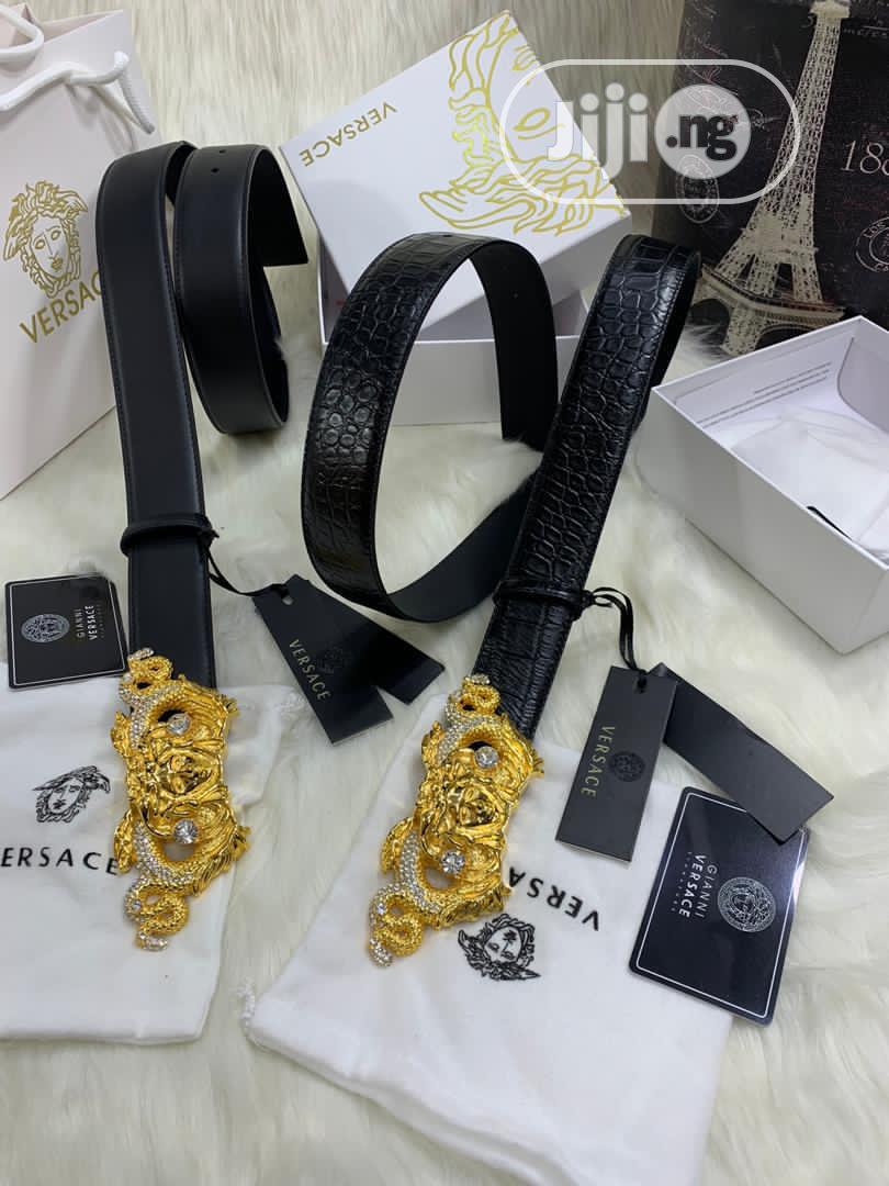 High Quality Versace Leather Belts   Clothing Accessories for sale in Magodo, Lagos State, Nigeria
