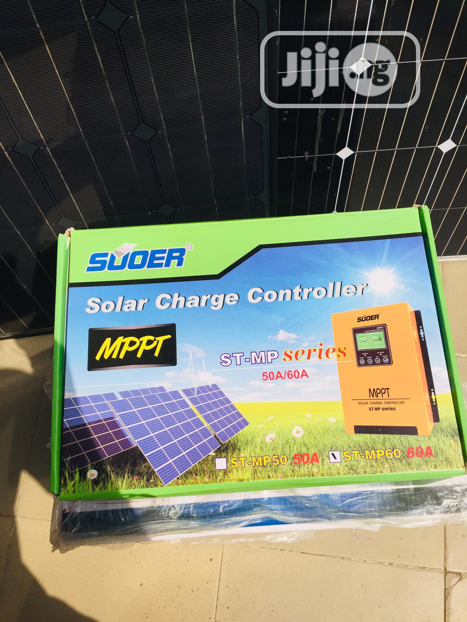 50/60ah 12/24/36/48v Mppt Solar Charger Controller