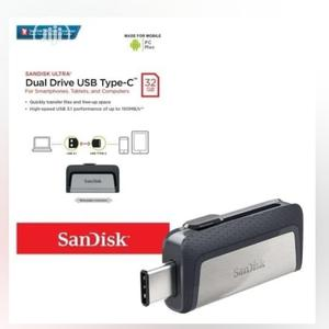 Sandisk 32GB Ultra Type-C Otg Flash Drive for Android Phones | Accessories for Mobile Phones & Tablets for sale in Lagos State, Ikeja