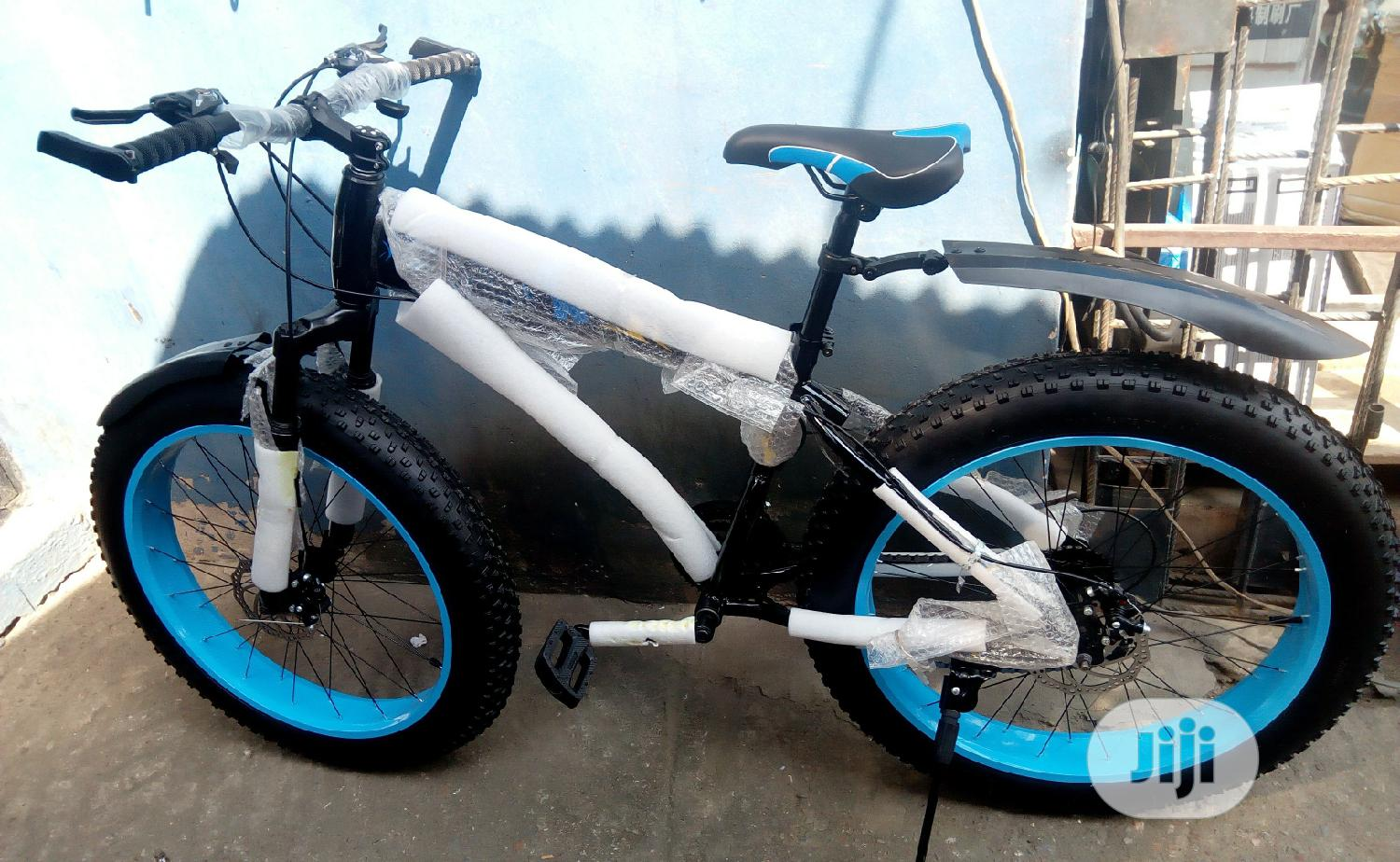 Adult Big Tyre Bicycle | Sports Equipment for sale in Ikeja, Lagos State, Nigeria