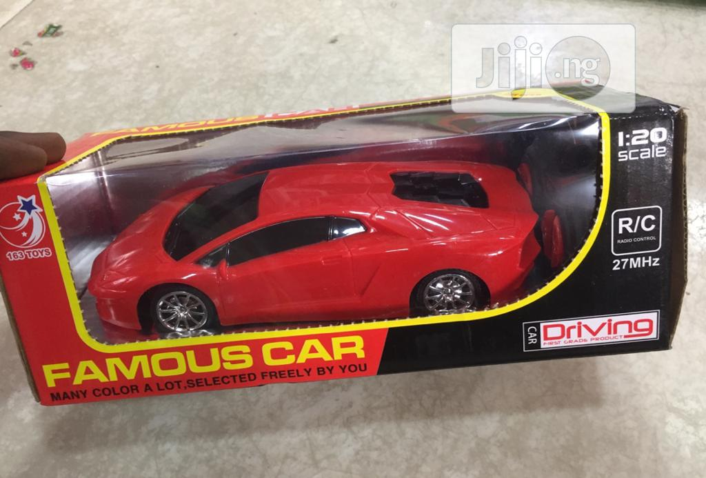 Toy Car With Remote
