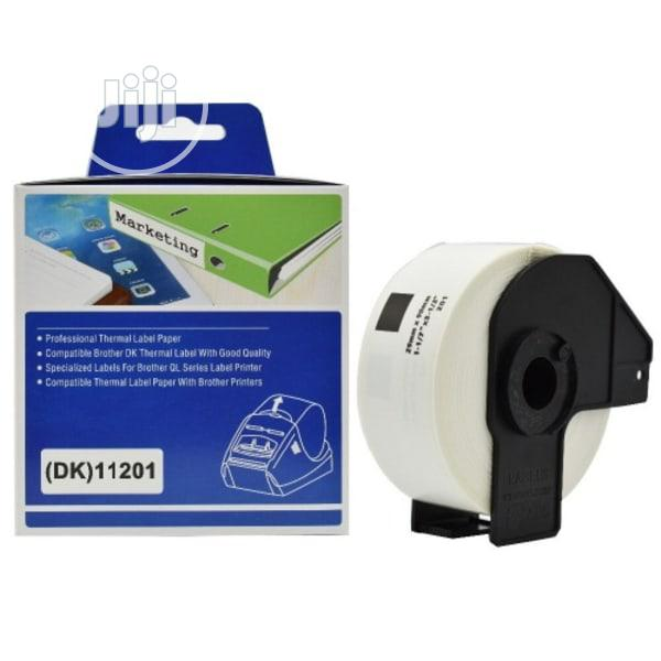 Archive: Brother Dk-11201 Label Roll 90 X 29 Mm Paper White