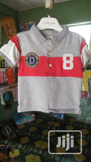 DK Champion Baby Boy Clothes Set Jean and T-Shirts | Children's Clothing for sale in Lagos State, Ipaja
