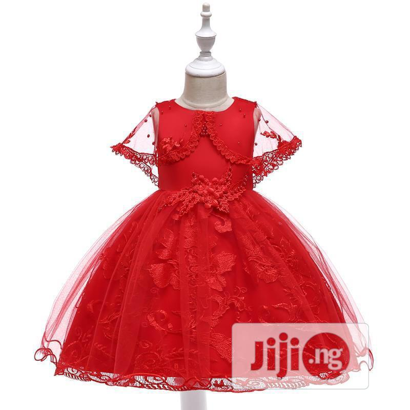 Cute Children Ball Gown Upto 7 Years Size   Children's Clothing for sale in Amuwo-Odofin, Lagos State, Nigeria