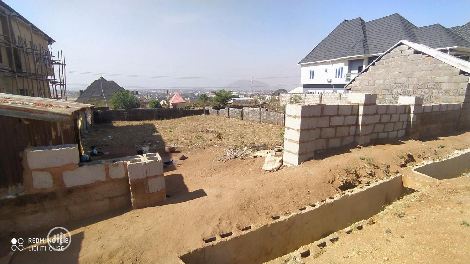 Buildable and Liveable Residential Plot at Dawaki