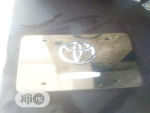 3D Toyota Steel Plate Number   Vehicle Parts & Accessories for sale in Anambra State, Onitsha
