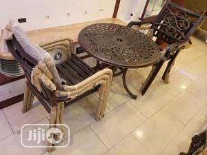 Super Quality Set of Metal Dinning Table With 4 Chairs   Furniture for sale in Abuja (FCT) State, Central Business Dis