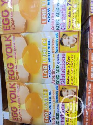 Lab White Egg Yolk Soap | Skin Care for sale in Lagos State, Ojo
